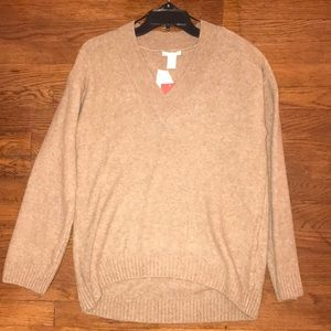 H&M Camel Sweater